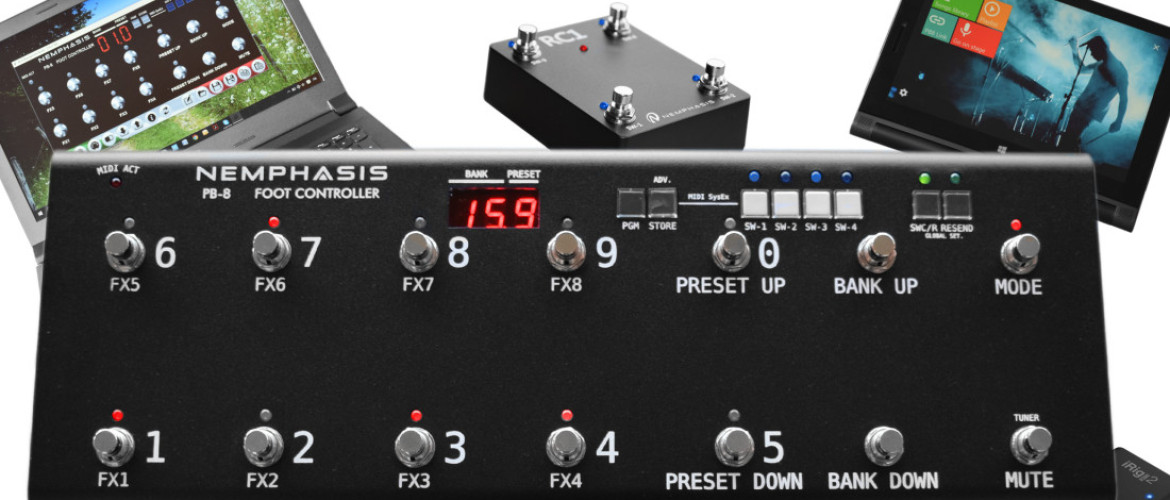 PB-8 Foot Controller With Midi Features