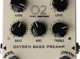 O2 Oxygen Bass Preamp PRO Series